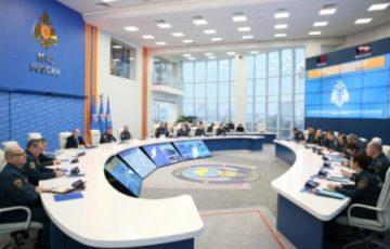 В МЧС России состоялось тематическое селекторное совещание «О дополнительных мерах по обеспечению пожарной безопасности в зимний период»