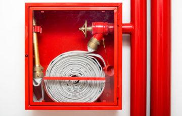 Проверка работоспособности внутреннего противопожарного водопровода (требуется 2 раза в год)
