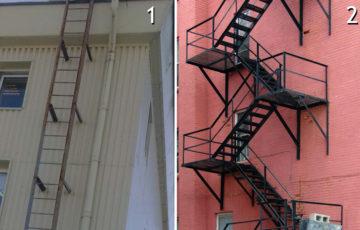 Испытание пожарных лестниц и ограждений крыш