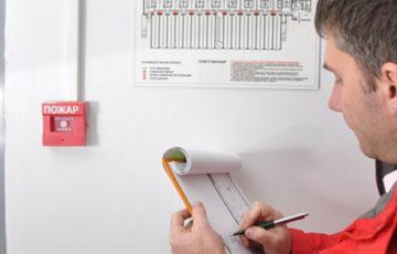 Самостоятельное определение готовности объекта к пожарной проверке