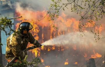 Выбросы от пожаров в Сибири и на Аляске сравнили с годовым выхлопом Швеции Площадь пожаров в России и США — 100 тыс футбольных полей