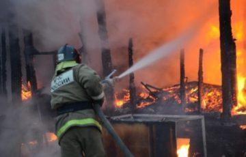 Крупный пожар в Хакасии: сгорели 12 тонн овечьей шерсти