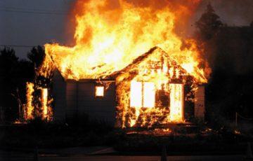 Под Курском трое маленьких детей заживо сгорели вместе с матерью
