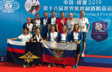 Триумфом России завершились Всемирные игры полицейских и пожарных
