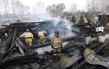 Гибель детей на пожаре приравнено к статусу ЧС