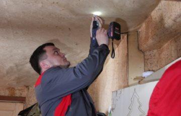 Дома многодетных курян оборудуют пожарными дымоизвещателями