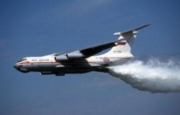 В Иркутской области два лесных пожара потушили искусственным дождем