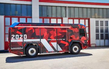Концепт пожарной машины «Revolutionary Technology» станет серийным