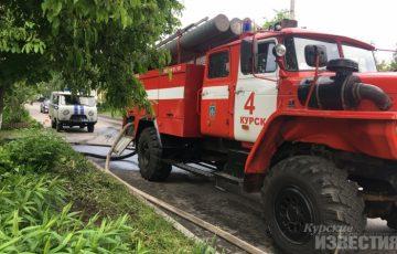 В июле в Курской области произошло 300 пожаров