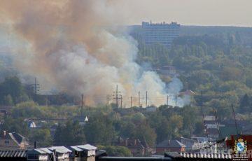 В МЧС рассказали подробности серьезного пожара в Курске