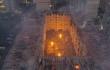 В Краснодаре возбуждено еще одно уголовное дело о пожаре в многоквартирном жилом доме по ул. Российской