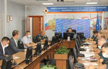 В Главном управлении МЧС состоялось совещание с представителями бизнес-сообществ