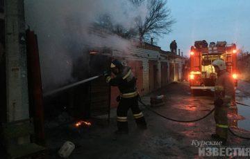 В марте в Курске произошло 62 пожара