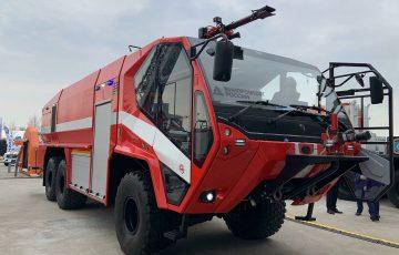 В России разработали новый автомобиль для тушения пожаров в аэропортах