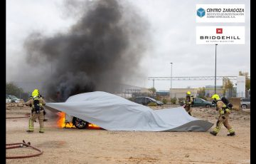 Норвежцы предлагают тушить автомобили одеялами