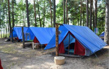 Утверждён национальный стандарт о пожарной безопасности палаток детских лагерей