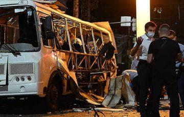 В Воронеже эвакуировали торговый центр, рядом с которым вчера взорвался автобус